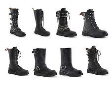 Demonia Women's RIVAL-300 302 303 307 309 315 400 404 Combat/Motorcycle Boots
