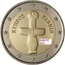 2 €   CHYPRE  LOT DE   1   X  PIECE     2014   NOUVEAU   NEUVE   /   disponible