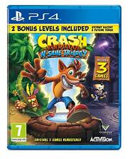 Crash Bandicoot N. Sane Trilogia Ps4 - Gioco per Sony Playstation 4 Nuovo