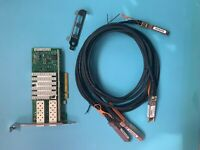 X520-DA2 INTEL Dual 10GB High PCIE SFP+ w/ 2x DAC Direct Attach Cable Included