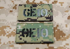 Infra Red AOR2 Call Sign Patch Set - GE10 SEAL NSWDG DEVGRU ST6 Zero Dark Thirty