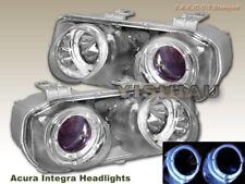 94 95 96 97 Acura Integra Projector Headlights Chrome 2 Halo 1996