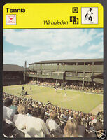 WIMBLEDON Tennis Stadium Photo England 1979 SPORTSCASTER CARD 27-04
