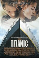 "TITANIC 1997 OSCAR BEST PICTURE Original DS 2 Sided 27x40"" Movie Poster DiCaprio"