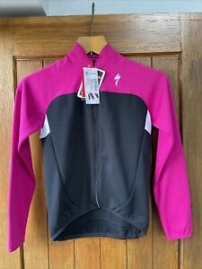 Specialized Cycling Jersey Insulated Womens Ladies 12 Years Pink Black Road