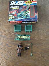 Vintage GI Joe Zartan With Swamp Skier Chameleon W/ Box 1984 READ