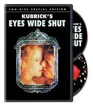 Eyes Wide Shut (Two-Disc Special Edition) Tom Cruise Dvd Drama discs : 2 New