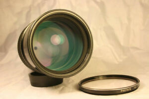 MINT Nikon Nikkor Non Ai 180mm F2.8 lens With Extras