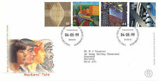 4 MAY 1999 WORKERS TALE ROYAL MAIL FIRST DAY COVER BUREAU SHS (n)
