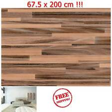DIY Kitchen Worktop CounterTop Wood Vinyl Cover Self Adhesive Sticky Back Wrap