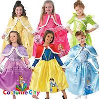 Childs Girls Official Disney Winter Wonderland Princess Fancy Dress Costume