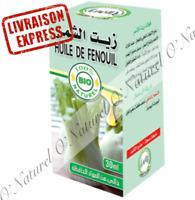 Huile de Fenouil BIO 100% Pure & Naturelle 30ml Fennel Oil, Aceite de Hinojo