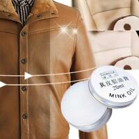 Mink Oil Cream Cloth Wallet Sofa Shoe Car Cushion Maintenance Best CL Lea A8T1
