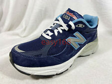 New New Balance 990 V3 Sz 6 WMNS W990NV3 NB Made in USA Suede Blue 36.5 Left