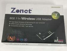 Zonet ZEW2500P Wireless Adapter IEEE 802.11b/G MINI USB / USB 2.0 Up to 54Mbps