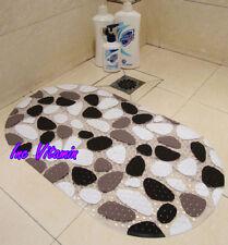 SAFE BATHING PVC NON SLIP 39*69cm BATHTUB PEBBLES MAT CARPET KID SHOWER MAT