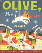 OLIVE, THE OTHER REINDEER Vivian Walsh Christmas Holiday Picture Book hc/dj