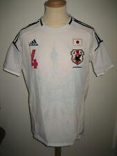 Japan #4 Honda MATCH WORN away JFA football shirt soccer jersey maillot size XL