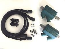 Dyna Ignition Coils 3 ohm Dual Output DC1-1 Wires DW-200 Kawasaki Z 1000 4 CYL
