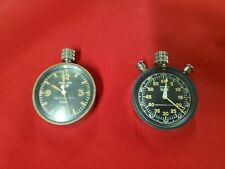 Heuer Vintage Auto Racing Rally Timer And Master-Time Abercrombie & Fitch Set
