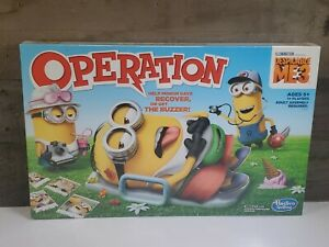 NEW SEALED! OPERATION Despicable Me 3 Edition Hasbro Gaming Board Game Minion 👁