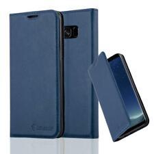 Anti-Radiation RFID Samsung Wallet Case (Navy Blue, Samsung Galaxy S9)