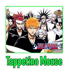 Bleach Ichigo Kurosaki Soul Society Arrancar Aizen Rukia Tappetino Mouse Pad Pc