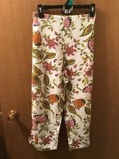 Color Me Cotton Women's Capris Size Medium/Elastic Waist/