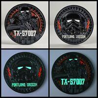Star Wars Coin: TX57007 Shadow Trooper, Glows in the dark!!!