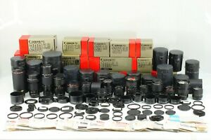 [Full New FD Lens SET!] Canon NFD 24 35 50 85 100 135 F/2 and More!! From JAPAN