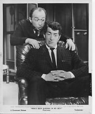 WHO'S BEEN SLEEPING IN MY BED orig 1963 still photo DEAN MARTIN/JOHNNY SILVER