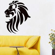 Wall Room Decor Art Vinyl Sticker Mural Decal Tribal Tattoo Lion King Cool FI504