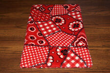 New Western Bandana Handkerchief Fleece Dog Cat Pet Carrier Blanket Support Bcr!