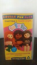 Double Tots Tv Lost Teddy and Sticky Disasters - VHS Tape