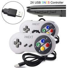 2X USB SNES Controller Gamepad Joystick für Nintendo PC Window Mac Raspberry Pi