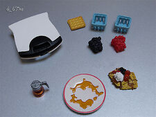 Re-ment Fun Meals N. 2: Waffles (2006) Barbie size