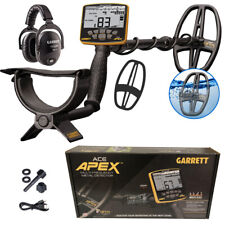 Garrett Ace Apex Metal Detector with Z-Lynk Wireless Headphones and Coil Cover