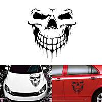 "DIY Car Decal Skull Auto Vinyl Sticker Tailgate Window 16"" Reflective Motorcycle"