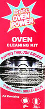 Oven Brite POWER Oven Cleaning Kit 330ml & Rack Cleaning Bag Oven Cleaner