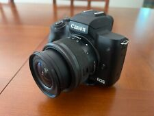 Canon EOS M50, 15-45mm IS Lens with 5 spare batteries