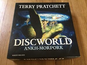 Discworld Terry Pratchet Ankh-Morpork Board Game 4005