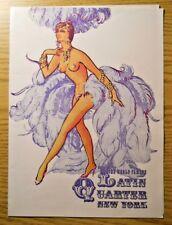 1960s LATIN QUARTER Showgirl Burlesque Program EM LOEW ED RISMAN DONALD SADDLER