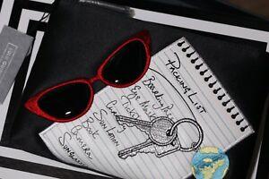 New GENUINE Lulu Guinness 'Voyage Packing List' Zip Top Purse RRP £65 Gift Box