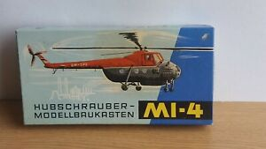 Mi-4 copter Plasticart VEB DDR Germany  box 1964