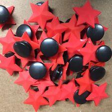 10 x Star Croc, Cloggy Shoe Badges, Shoe Charms, Embellishments NHS Button Hole