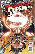 SUPERBOY #3 / SUPERMAN / 1ST PRINT / NEW 52 / / SCOTT LOBDELL / DC COMICS