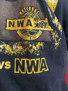 NWA National Wrestling Alliance VS New Japan Pro Wrestling T Shirt Conway Kojima