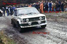Walter Rohrl ALITALIA FIAT 131 ABARTH RAC Rally 1978 fotografia 6