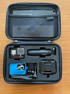 NEW GOPRO HERO 7 BLACK + 32GB SD CARD, CASE, ACCESSORIES