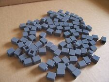 LEGO  ( 125 )  1 X 1 DARK  GRAY BRICKS ( SEE DISCOUNT )